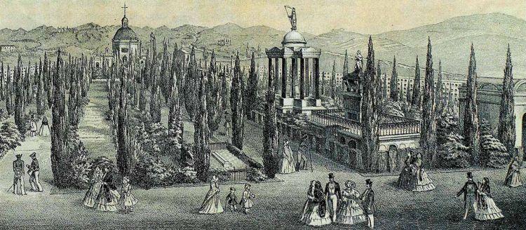 Cementerio de San Miguel Grabado